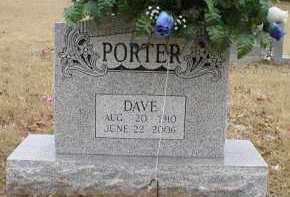 PORTER, DAVE - Logan County, Arkansas | DAVE PORTER - Arkansas Gravestone Photos