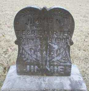 PORTER, JIMMIE N - Logan County, Arkansas | JIMMIE N PORTER - Arkansas Gravestone Photos