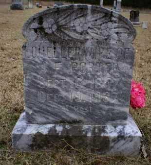 PORTER, LOUELLER - Logan County, Arkansas | LOUELLER PORTER - Arkansas Gravestone Photos