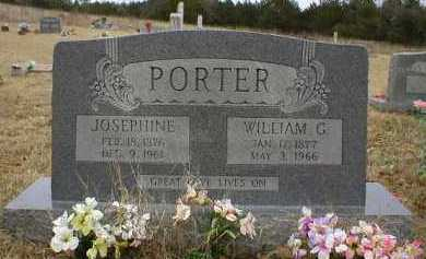 PORTER, WILLIAM G - Logan County, Arkansas | WILLIAM G PORTER - Arkansas Gravestone Photos