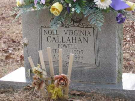 POWELL, NOEL VIRGINIA - Logan County, Arkansas | NOEL VIRGINIA POWELL - Arkansas Gravestone Photos