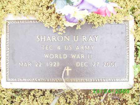 RAY (VETERAN WWII), SHARON U - Logan County, Arkansas | SHARON U RAY (VETERAN WWII) - Arkansas Gravestone Photos