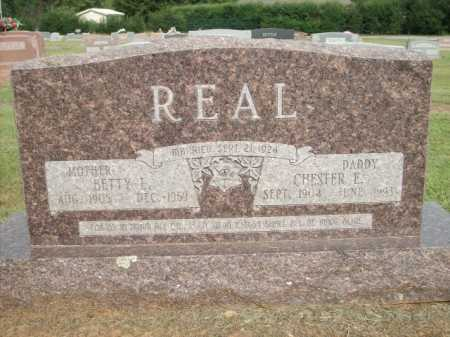 REAL, CHESTER E. - Logan County, Arkansas | CHESTER E. REAL - Arkansas Gravestone Photos