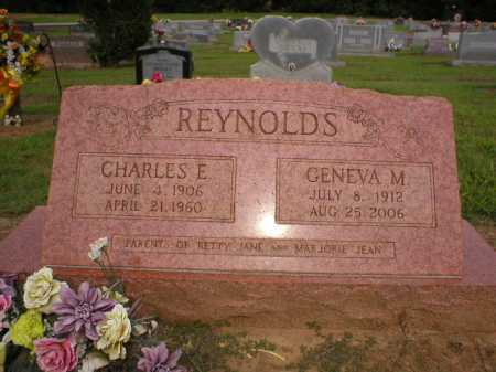 REYNOLDS, CHARLES E. - Logan County, Arkansas | CHARLES E. REYNOLDS - Arkansas Gravestone Photos