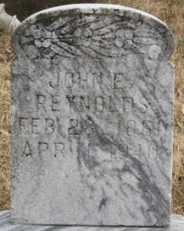 REYNOLDS, JOHN E. - Logan County, Arkansas | JOHN E. REYNOLDS - Arkansas Gravestone Photos