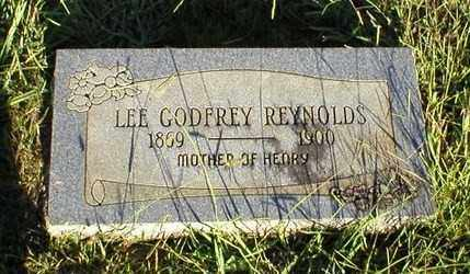 GODFREY REYNOLDS, LEE - Logan County, Arkansas | LEE GODFREY REYNOLDS - Arkansas Gravestone Photos
