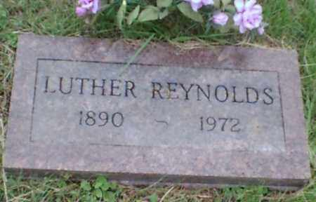 REYNOLDS, LUTHER - Logan County, Arkansas | LUTHER REYNOLDS - Arkansas Gravestone Photos