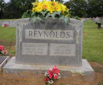 REYNOLDS, NANNIE BELL - Logan County, Arkansas | NANNIE BELL REYNOLDS - Arkansas Gravestone Photos