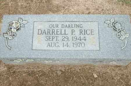 RICE, DARRELL P. - Logan County, Arkansas | DARRELL P. RICE - Arkansas Gravestone Photos