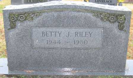 RILEY, BETTY J. - Logan County, Arkansas | BETTY J. RILEY - Arkansas Gravestone Photos