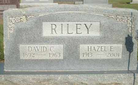 RILEY, HAZEL E. - Logan County, Arkansas | HAZEL E. RILEY - Arkansas Gravestone Photos