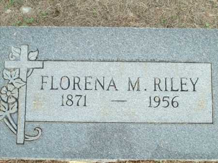 RILEY, FLORENA M. - Logan County, Arkansas | FLORENA M. RILEY - Arkansas Gravestone Photos