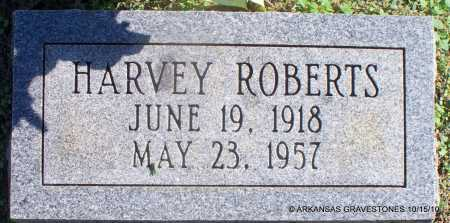 ROBERTS, HARVEY - Logan County, Arkansas | HARVEY ROBERTS - Arkansas Gravestone Photos