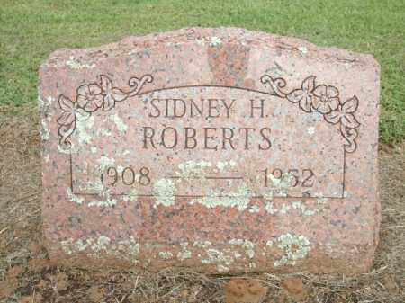 ROBERTS, SIDNEY H. - Logan County, Arkansas | SIDNEY H. ROBERTS - Arkansas Gravestone Photos