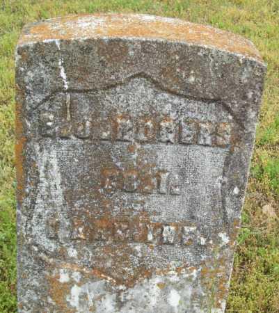 ROGERS (VETERAN UNION), E J - Logan County, Arkansas | E J ROGERS (VETERAN UNION) - Arkansas Gravestone Photos