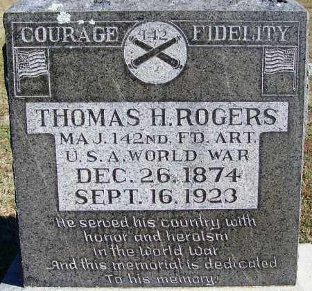 ROGERS (VETERAN WWI), THOMAS H - Logan County, Arkansas | THOMAS H ROGERS (VETERAN WWI) - Arkansas Gravestone Photos