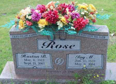 ROSE, HUSTON - Logan County, Arkansas | HUSTON ROSE - Arkansas Gravestone Photos