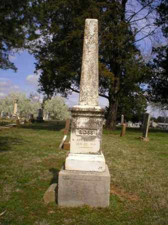 ALLEN ROSS, MARY - Logan County, Arkansas | MARY ALLEN ROSS - Arkansas Gravestone Photos