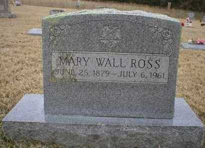 ROSS, MARY - Logan County, Arkansas | MARY ROSS - Arkansas Gravestone Photos