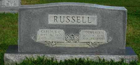 RUSSELL, DEWEY F - Logan County, Arkansas | DEWEY F RUSSELL - Arkansas Gravestone Photos