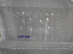 SADLER, W  DOAK - Logan County, Arkansas | W  DOAK SADLER - Arkansas Gravestone Photos