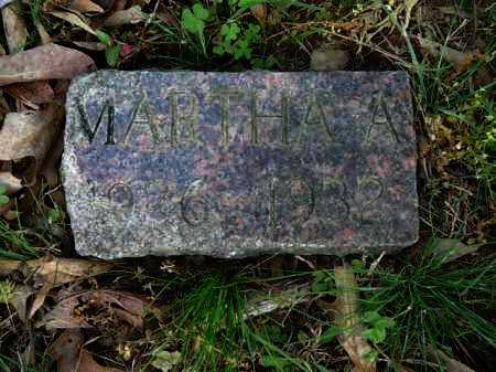 SANDERS, MARTHA - Logan County, Arkansas | MARTHA SANDERS - Arkansas Gravestone Photos