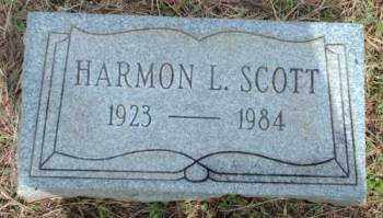 SCOTT, HARMON L. - Logan County, Arkansas | HARMON L. SCOTT - Arkansas Gravestone Photos