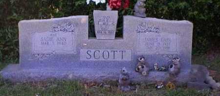 SCOTT, JAMES EARL - Logan County, Arkansas   JAMES EARL SCOTT - Arkansas Gravestone Photos