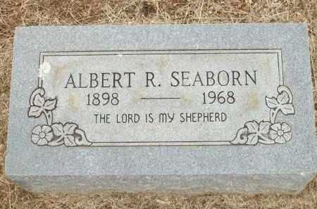 SEABORN, ALBERT R. - Logan County, Arkansas | ALBERT R. SEABORN - Arkansas Gravestone Photos