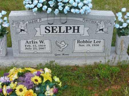 SELPH, ARLIS - Logan County, Arkansas | ARLIS SELPH - Arkansas Gravestone Photos