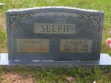 SELPH, M IRENE - Logan County, Arkansas | M IRENE SELPH - Arkansas Gravestone Photos