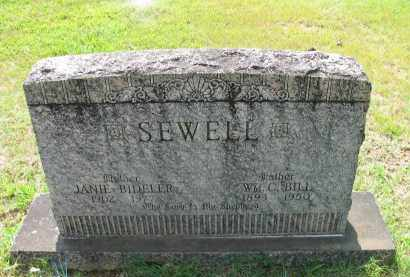 SEWELL, JANIE - Logan County, Arkansas | JANIE SEWELL - Arkansas Gravestone Photos