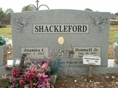 SHACKLEFORD JR., DONNELL - Logan County, Arkansas | DONNELL SHACKLEFORD JR. - Arkansas Gravestone Photos