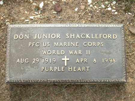 SHACKLEFORD, JR. (VETERAN WWII, DONNELL - Logan County, Arkansas | DONNELL SHACKLEFORD, JR. (VETERAN WWII - Arkansas Gravestone Photos