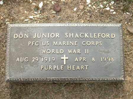SHACKLEFORD, JR. (VETERAN WWII, DONNELL - Logan County, Arkansas | DONNELL SHACKLEFORD, JR. (VETERAN WWII - Arkansas Gravestone Photos