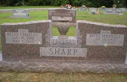 MAXWELL SHARP, RUTH - Logan County, Arkansas | RUTH MAXWELL SHARP - Arkansas Gravestone Photos