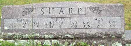 SHARP, TAPLEY E. - Logan County, Arkansas | TAPLEY E. SHARP - Arkansas Gravestone Photos