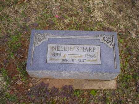 SHARP, NELLIE - Logan County, Arkansas | NELLIE SHARP - Arkansas Gravestone Photos