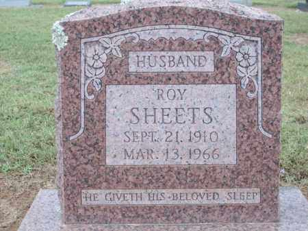 SHEETS, ROY - Logan County, Arkansas | ROY SHEETS - Arkansas Gravestone Photos