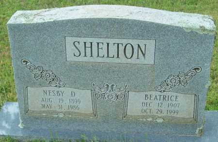 SHELTON, BEATRICE - Logan County, Arkansas | BEATRICE SHELTON - Arkansas Gravestone Photos