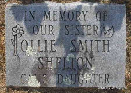 SHELTON, OLLIE - Logan County, Arkansas | OLLIE SHELTON - Arkansas Gravestone Photos