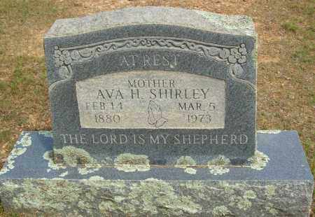 SHIRLEY, AVA H - Logan County, Arkansas | AVA H SHIRLEY - Arkansas Gravestone Photos