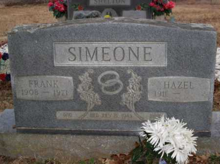 SIMEONE, FRANK - Logan County, Arkansas | FRANK SIMEONE - Arkansas Gravestone Photos