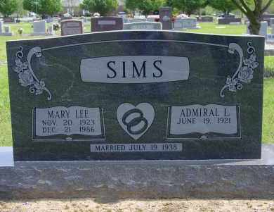 COLLINS SIMS, MARY LEE - Logan County, Arkansas | MARY LEE COLLINS SIMS - Arkansas Gravestone Photos