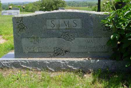 SIMS, THOMAS HENRY - Logan County, Arkansas | THOMAS HENRY SIMS - Arkansas Gravestone Photos