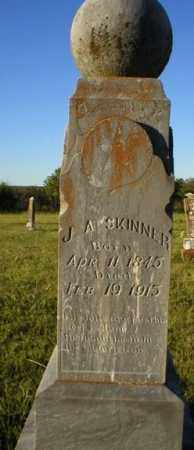 SKINNER, J. A. - Logan County, Arkansas | J. A. SKINNER - Arkansas Gravestone Photos