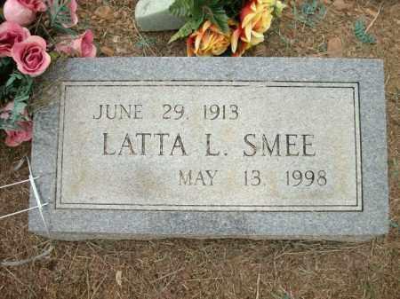 SMEE, LATTA L. - Logan County, Arkansas | LATTA L. SMEE - Arkansas Gravestone Photos