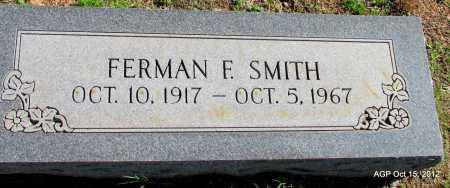 SMITH, FERMAN F - Logan County, Arkansas | FERMAN F SMITH - Arkansas Gravestone Photos
