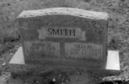 SMITH, ORZEAL - Logan County, Arkansas | ORZEAL SMITH - Arkansas Gravestone Photos