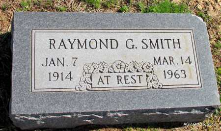 SMITH, RAYMOND G - Logan County, Arkansas | RAYMOND G SMITH - Arkansas Gravestone Photos